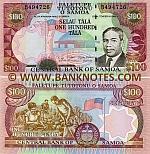 Samoa 100 Tala (2006) (B494725) UNC