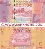 Samoa 5 Tala (2014) (TK18895xx) UNC