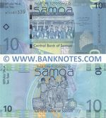 Samoa 10 Tala (2008) (WT33813xx) UNC