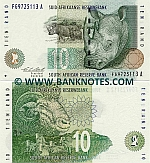 South Africa 10 Rand (1993) UNC