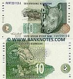 South Africa 10 Rand (1993) (FG97251xx A) UNC