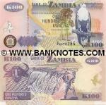 Zambia 100 Kwacha 2003 UNC