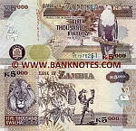Zambia 5000 Kwacha 2011 (FL/03 72762xx) UNC